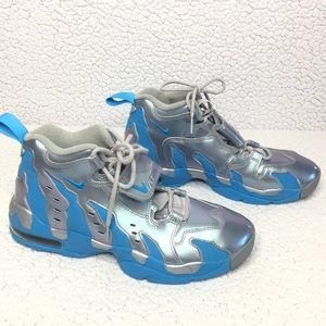 Nike Air Dt Max 96 Deion Sanders Silver Sneakers